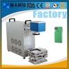 Phone shell cover case portable optical fiber laser marking machine