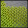 hard plastic mesh fluorescent light green polyester resin mesh fabric