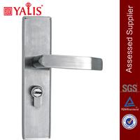 Stainless steel fire rated door lock