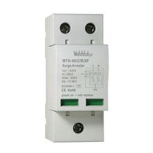 In 20kA WTH-40/C/R/2P-420 modular design lightning arrestor