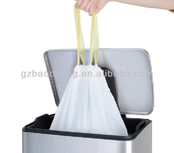 Garbage Can Drawing Garbage Bag With Drawing