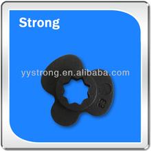 black NBR rubber grommet