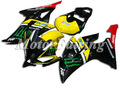 08 09 yzf r6 para yamaha yzf r6 carenagem kit 08 09 yzf r6 2008 2009 yzf r6 2008 2009 r6 carenagens kit preto e amarelo