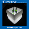 Square Lighting Cubic Seat Useful RGB LED Wine Cooler Ice Bucket