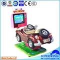 de lujo de paseo en coche con reproducción de vídeo del coche de carreras de juegos para los niños