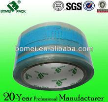 Guangdong manufacturer blue printed packing tape