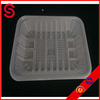 PP disposable plastic vegetables tray / White pp disposable plastic vegetable tray / Disposable plastic food tray