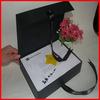 Printing Ribbon Box Black Printing Box EVA Insert Boxes Magnet Boxes
