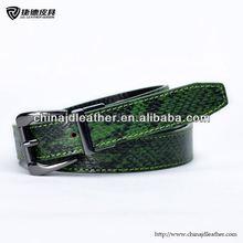 genuine python snake skin leather belt