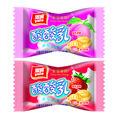 yogur con sabor a fruta jalea lleno de dulces duros