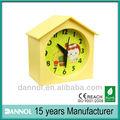 china de alarma reloj colorido regalo de los niños de las casas de plástico para niños baratos