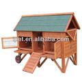 top venda de casa de madeira aves com rodas cc009