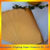 153g mat gold PET metallized bond paper