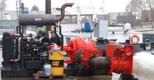Water pumps. Diesel engine driven (Irrigation Pumps). Custom-made.