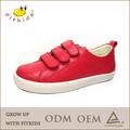 Dernier modèle de haute qualité en cuir espagnol durable adolescence. filles chaussures casual