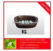 Luxury cotton pet sofa bed