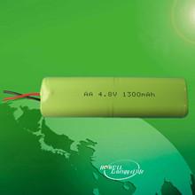 battery packs 4.8v nimh AA 1300mAh battery packs 4.8v nimh