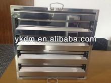 Baffle kitchen washable aluminum grease filter