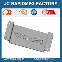 custom Laser engraving stainless steel fabrication/sheet metal with rubber spraying fabrication maker
