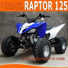 2014 New Raptor 125cc ATV Quad