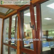 China factory aluminum and glass windows,China guangzhou modern glass windows ornaments