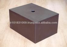 Faux Leather Shoe Box