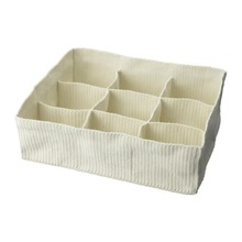 Storage with compartments/Handwoven compartments for underwear and socks