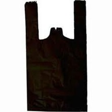 Plastic T-shirt garbage bag made in Vietnam/ HDPE T-shirt bag export to Canada