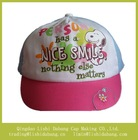Customize high quality 100% cotton baby snapbacks hat