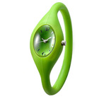 water resistence fresh silicone quartz bracelet watch for men and women
