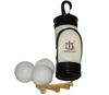 Pu Leather Golf Bag with Ball & Tee
