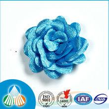 blue for christmas gift ribbon flower bow