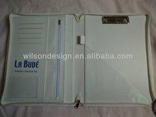 A4 clip binder PU portfolio