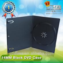 DVD cases black single disc 14MM