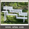 FS213 Outdoor Solid Wood Bench Wooden Garden Bench