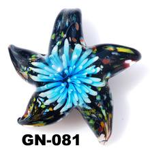Glass Ornament Glass Pendants Murano Necklace Jewelry