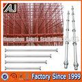 de acero galvanizado materiales del andamio cuplock estándar