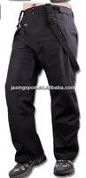 Low price plus size All Seams taped waterproof 10000 Ski Men Trousers Black