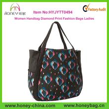 Women Handbag 2014 Diamond Print Fashion Bags Ladies Handbags