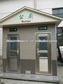 china 2014 baratos prefabricados modulares de plástico móvil cabina de wc