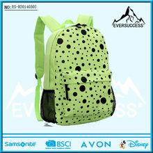 2014 fashion polka dot school bags