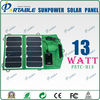24% high efficiency flexible foldable solar panel bag for iPhone laptops