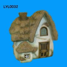 house shape Chinese resin Bird House