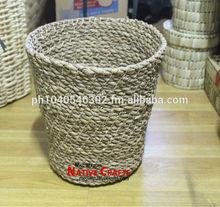 Seagrass Waste Bins, Seagrass Waste basket