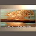 vente en gros la main paysage décoratif peinture
