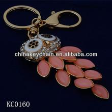unique design fashion powerful talisman owl keychain