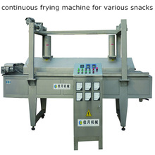 continuous frying machine for chicken nuggets