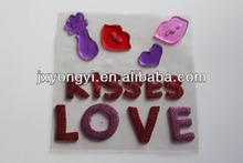 lovely magic custom window jelly sticker