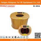 Portable Foot Steam SPA, Foot Steam Bath H8806A Wooden Steam Foot Sauna