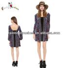 2014 Stylish Girls Dress Elegant Long Sleeve Casual Dress